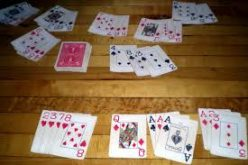 Make the parties fun by teaching all to play the gin rummy game.